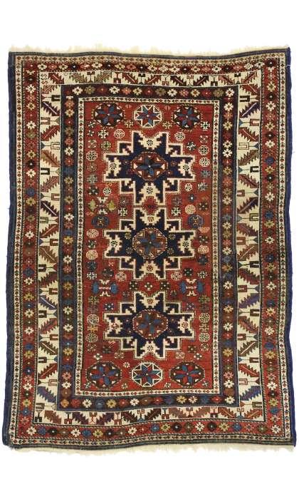 3 x 5 Antique Shirvan Rug 72858