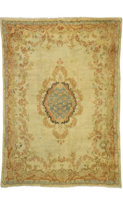 9 x 13 Antique Mahal Rug 72864