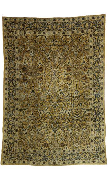 8 x 12 Antique Kerman Rug 73332
