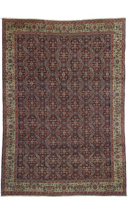 9 x 13 Antique Tabriz Rug 73346