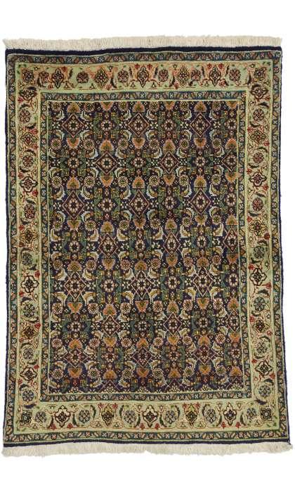 3 x 4 Vintage Tabriz Rug 75101
