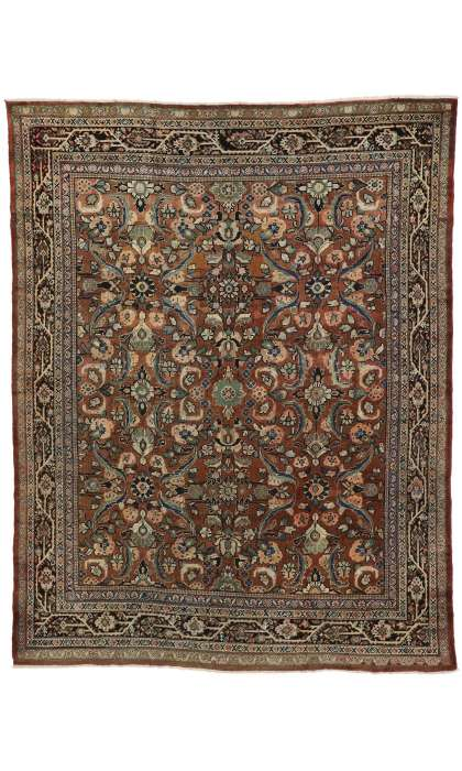 9 x 12 Antique Mahal Rug 75711
