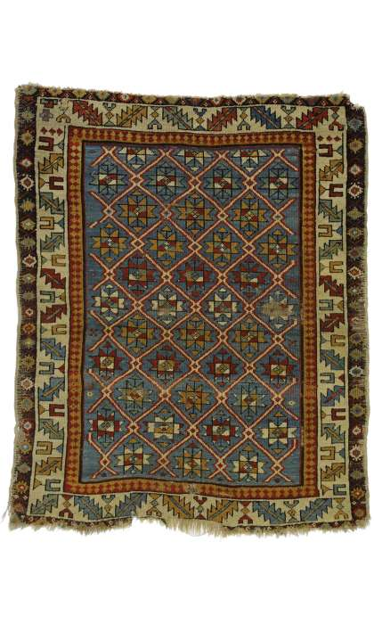 3 x 4 Antique Shirvan Rug 77146