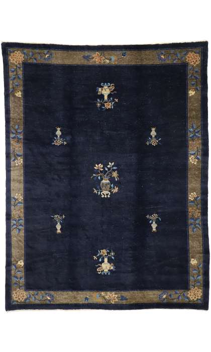 9 x 12 Antique Peking Rug 77238