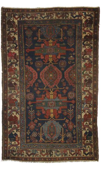 4 x 6 Antique Malayer Rug 77248