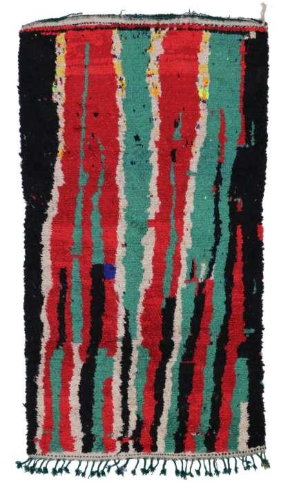4 x 7 Vintage Moroccan Rug 20065