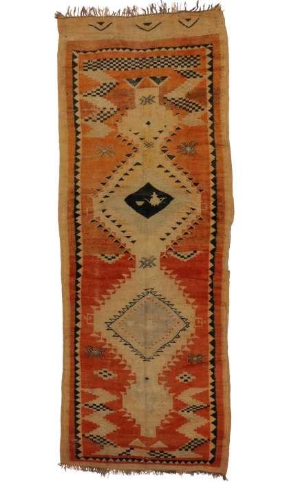 4 x 12 Vintage Moroccan Rug 20212