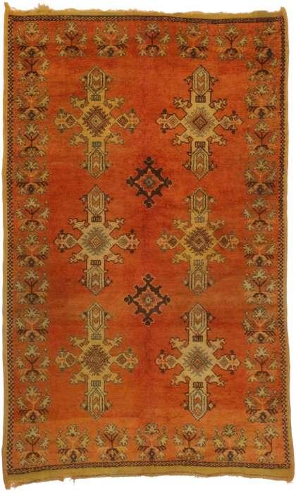 6 x 9 Vintage Moroccan Rug 20231