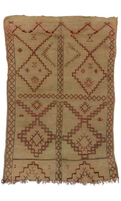 6 x 9 Vintage Moroccan Rug 20238