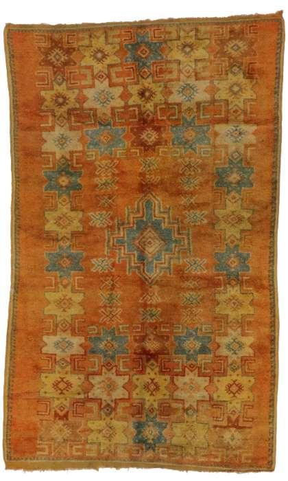 5 x 9 Vintage Moroccan Rug 20240