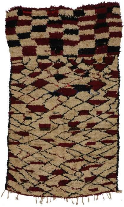 5 x 9 Vintage Moroccan Rug 20244