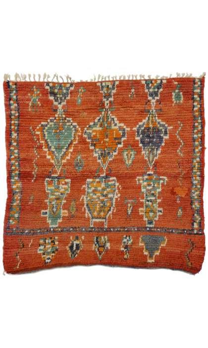 5 x 5 Vintage Moroccan Rug 20247