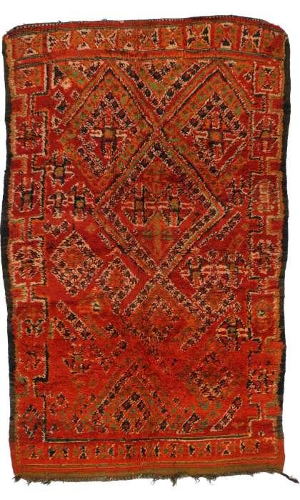 5 x 8 Vintage Moroccan Rug 20256