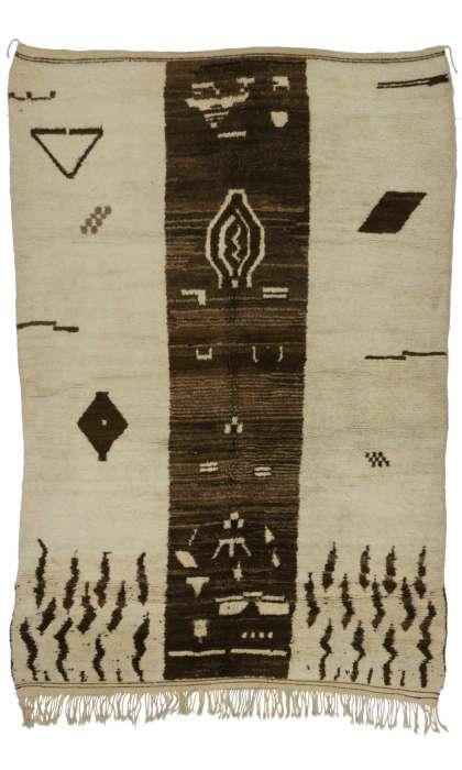 6 x 8 Vintage Moroccan Rug 20260