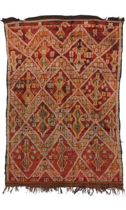 6 x 8 Vintage Moroccan Rug 20262