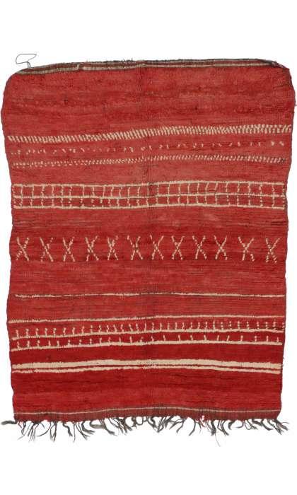5 x 6 Vintage Moroccan Rug 20268