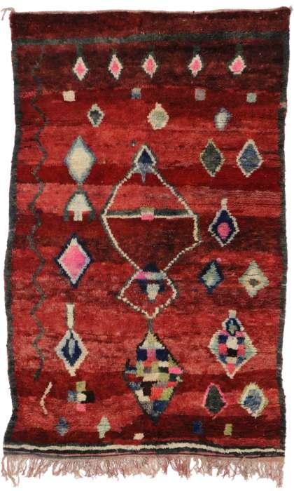 5 x 8 Vintage Moroccan Rug 20278