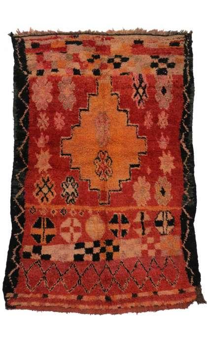 6 x 8 Vintage Moroccan Rug 20287