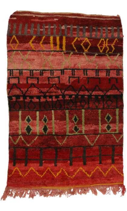 5 x 8 Vintage Moroccan Rug 20288