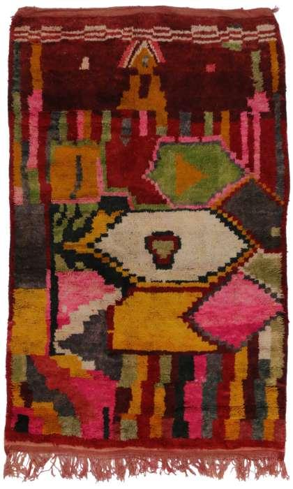 5 x 8 Vintage Moroccan Rug 20300
