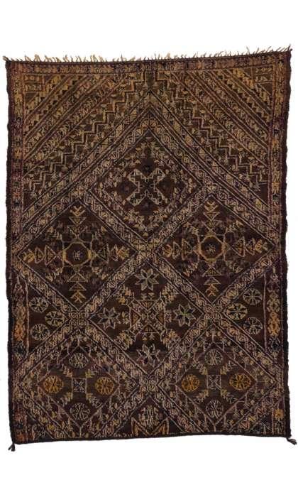 6 x 8 Vintage Moroccan Rug 20319