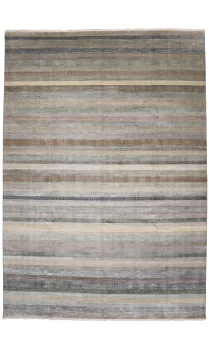 10 x 14 Modern Style Transitional Rug 30013