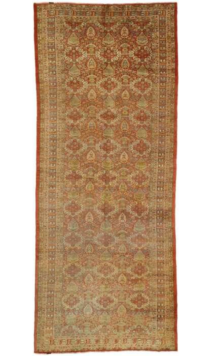 6 x 14 Antique Oushak Rug 51018