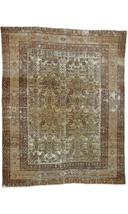 10 x 13 Antique Sultanabad Rug 73160