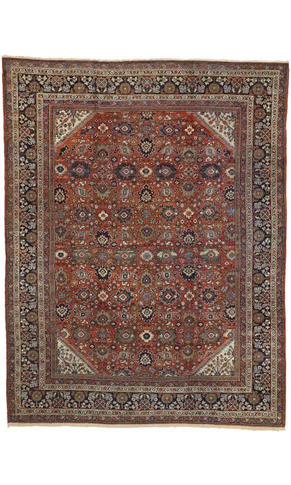 9 x 12 Antique Mahal Rug 73333
