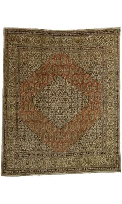 10 x 12 Antique Tabriz Rug 73538