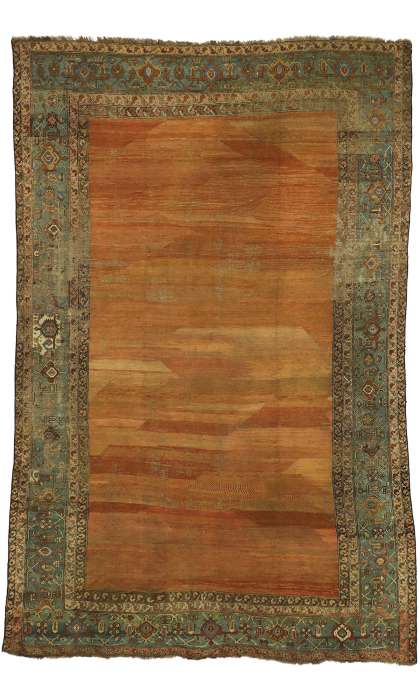 9 x 15 Antique Bakshaish Rug 73994