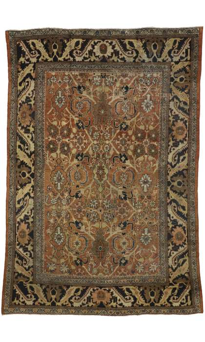 8 x 12 Antique Mahal Rug 74014