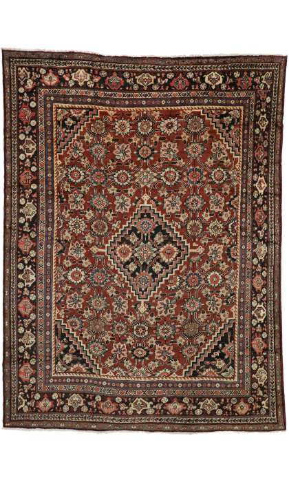 9 x 12 Antique Mahal Rug 76318