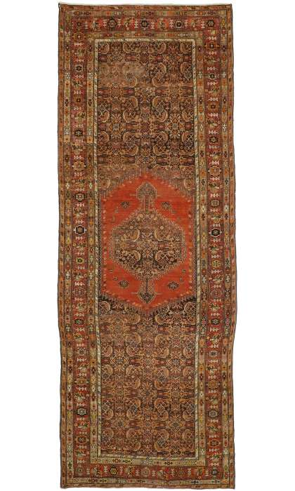 7 x 19 Antique Malayer Rug 76488