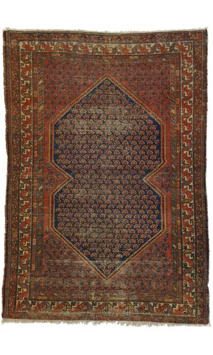 4 x 6 Antique Malayer Rug 77251