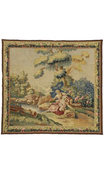 7 x 7 Antique Tapestry 77257