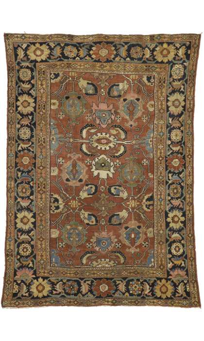 8 x 12 Antique Sultanabad Rug 71760