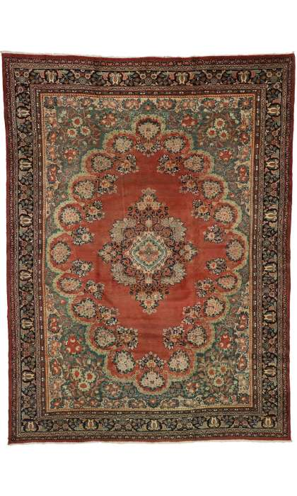 11 x 15 Antique Mahal Rug 73370