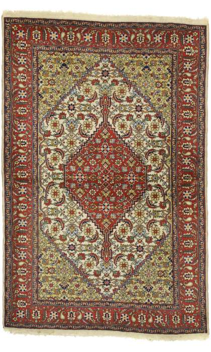 4 x 7 Antique Romanian Rug 74300