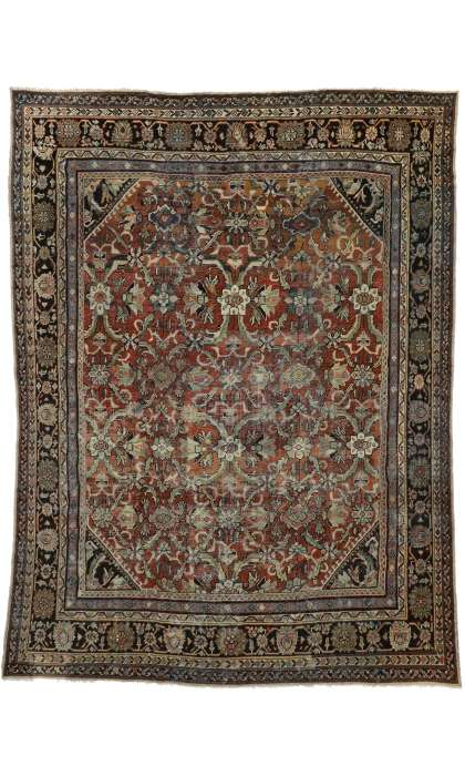 11 x 14 Antique Mahal Rug 74415