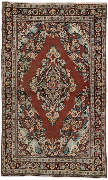4 x 6 Vintage Mahal Rug 75979