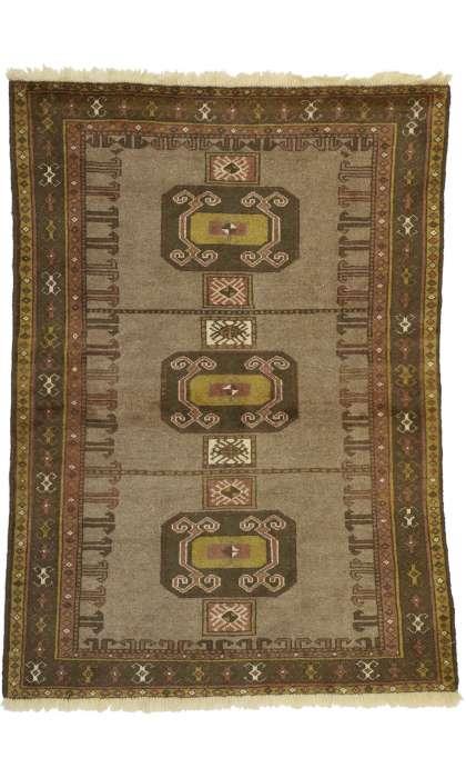 4 x 5 Vintage Shiraz Rug 76402