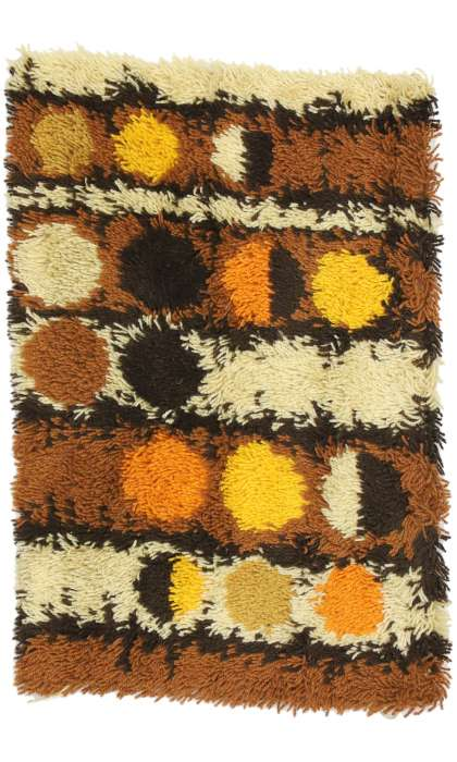 2 x 3 Vintage Swedish Tapestry 77255