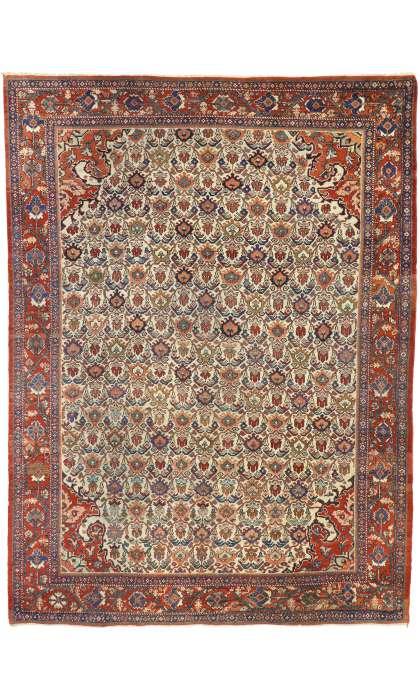 9 x 12 Antique Mahal Rug 77277