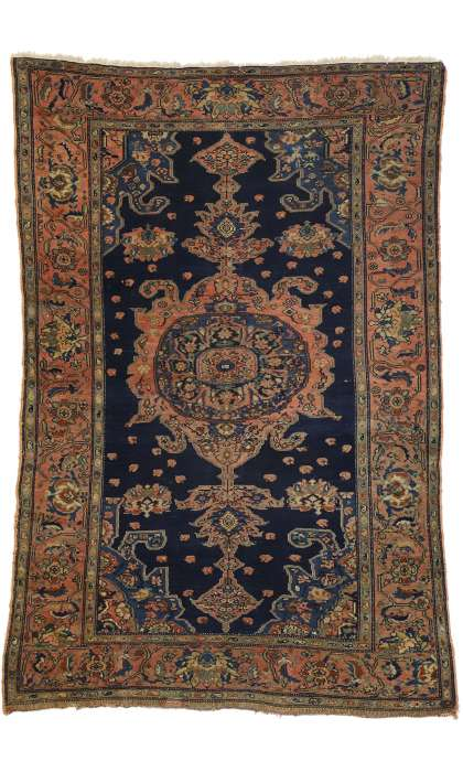 4 x 6 Antique Malayer Rug 77286