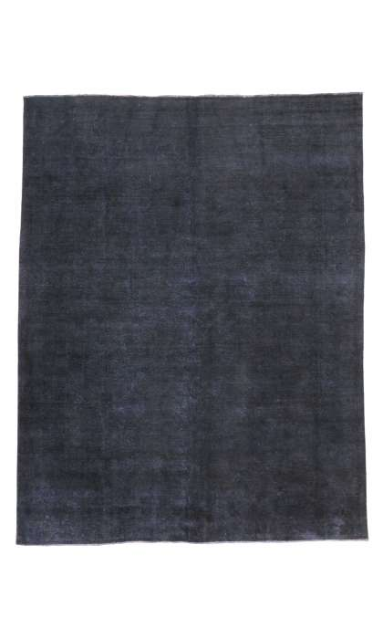 9 x 12 Vintage Overdyed Rug 80415