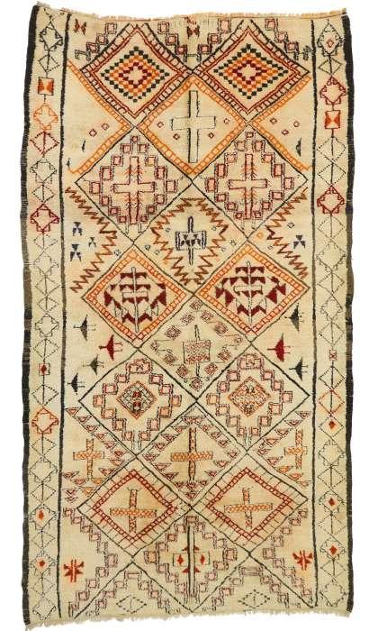 7 x 11 Vintage Moroccan Rug 20243