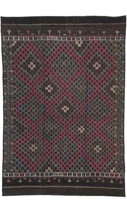 6 x 9 Vintage Turkish Kilim 51095