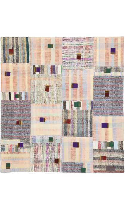 6 x 6 Vintage Patchwork Rug 51584