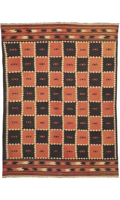 10 x 13 Vintage Kilim Rug 72071